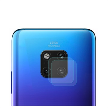 Hat Prince Huawei Mate 20 Pro Camera Lens Tempered Glass - 2 Pcs.