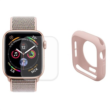 Hat Prince Apple Watch Series 5/4 Full Protection Set - 40mm - Pink