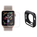 Hat Prince Apple Watch Series 4 Full Protection Set - 44mm - Black