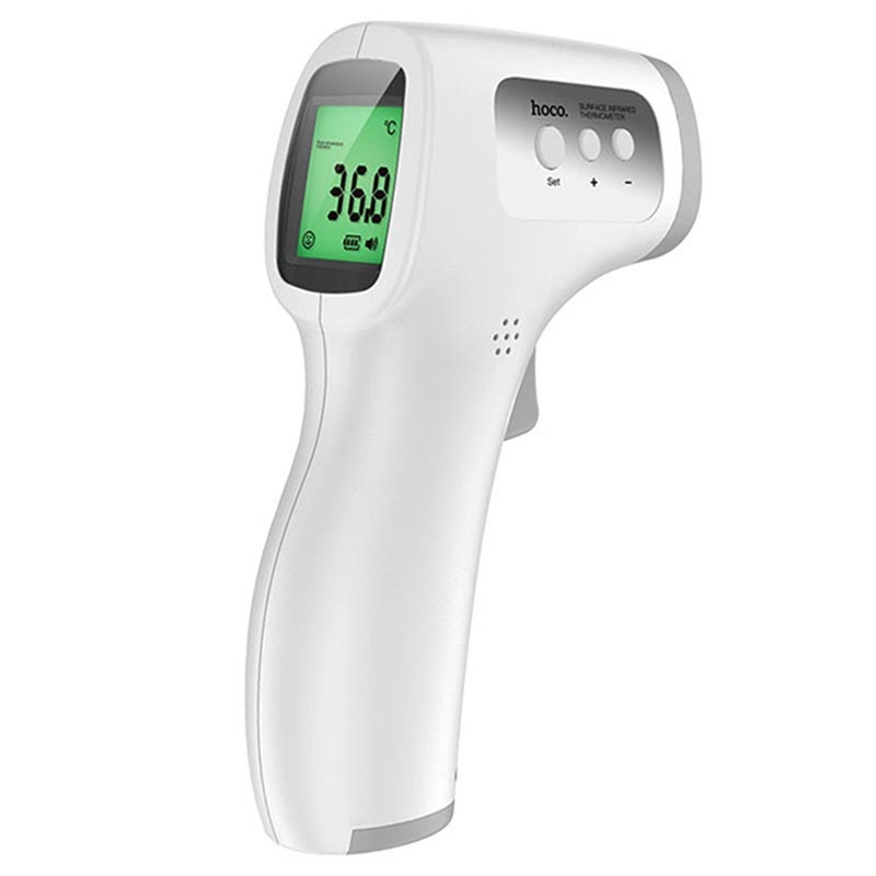 Hoco YQ6 Non-Contact Infra-Red Thermometer - White