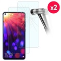 Honor View 20 Tempered Glass Screen Protector - 9H, 2.5D - 2 Pcs.