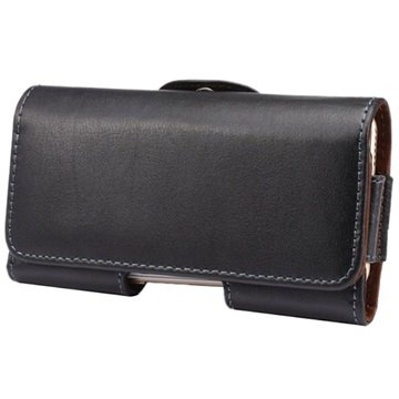 iPhone 5 / 5S / SE Horizontal Holster Leather Case