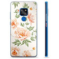 Huawei Mate 20 Hybrid Case - Floral