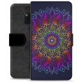 Huawei Mate 20 Pro Premium Wallet Case - Colorful Mandala