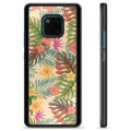 Huawei Mate 20 Pro Protective Cover - Pink Flowers