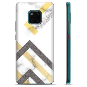 Huawei Mate 20 Pro TPU Case - Abstract Marble