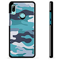 Huawei P Smart (2019) Protective Cover - Blue Camouflage
