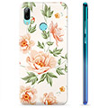 Huawei P Smart (2019) TPU Case - Floral