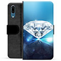 Huawei P20 Premium Wallet Case - Diamond