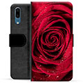 Huawei P20 Premium Wallet Case - Rose