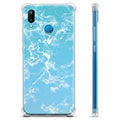Huawei P20 Lite Hybrid Case - Blue Marble
