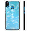 Huawei P20 Lite Protective Cover - Blue Marble