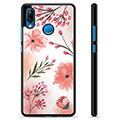 Huawei P20 Lite Protective Cover - Pink Flowers