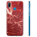 Huawei P20 Lite TPU Case - Red Marble