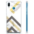 Huawei P20 Lite Hybrid Case - Abstract Marble