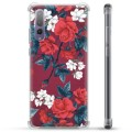 Huawei P20 Pro Hybrid Case - Vintage Flowers