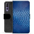 Huawei P20 Pro Premium Wallet Case - Leather