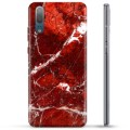 Huawei P20 TPU Case - Red Marble