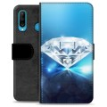 Huawei P30 Lite Premium Wallet Case - Diamond