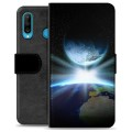 Huawei P30 Lite Premium Wallet Case - Space