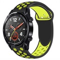 Huawei Watch GT Silicone Sport Band - Yellow / Black