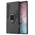Samsung Galaxy Note10+ Hybrid Case with Ring Holder - Black