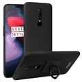 Imak Cowboy Ring OnePlus 6 Case with Screen Protector