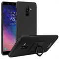 Imak Cowboy Ring Samsung Galaxy A6+ (2018) Case with Screen Protector