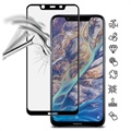 Nokia 8.1 Imak Full Cover Tempered Glass Screen Protector - Black