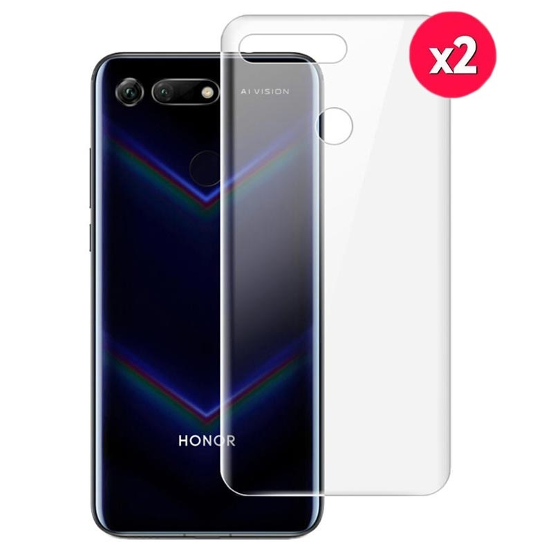 Imak Hydrogel Honor View 20 Back Cover Protector - Clear - 2 Pcs.
