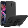 Huawei Mate 10 Pro Imak Ring Case with Screen Protector - Matte Black