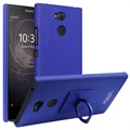 Sony Xperia L2 Imak Ring Case with Screen Protector - Blue