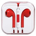 In-ear Headset - iPhone, iPad, iPod - Red