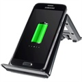 Itian A6 Qi Wireless Charging Desktop Stand - Black