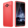 Huawei Mate 10 Ivso Gentry Series Textured TPU Case - Red