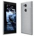 Sony Xperia L2 Ivso Gentry Series Textured TPU Case - Grey