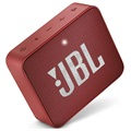 JBL GO 2 Portable Waterproof Bluetooth Speaker - Red