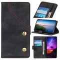 Jeans Series Sony Xperia 10 Plus Wallet Case - Black