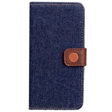 iPhone 6 / 6S Jeans Wallet Leather Case
