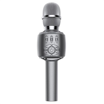 Joyroom JR-MC2 Wireless Karaoke KTV Microphone / Bluetooth Speaker - Grey
