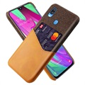 KSQ Samsung Galaxy A40 Case with Card Pocket