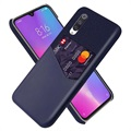 KSQ Xiaomi Mi A3, Mi CC9e Case with Card Pocket - Blue
