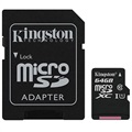 Kingston Canvas Select MicroSDXC Memory Card SDCS/64GB - 64GB