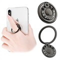 Kingxbar Swarovski 360° Rotation Smartphone Ring Holder - Black