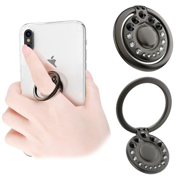 Kingxbar Swarovski 360° Rotation Smartphone Ring Holder