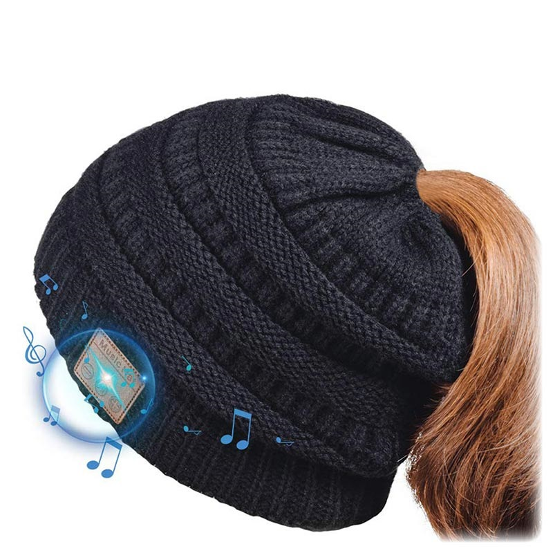 Knitted Beanie Hat Bluetooth 5.0 Headset