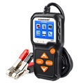 Konnwei KW650 Motorcycle & Car Battery Tester - 6V-12V