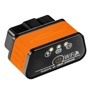 Konnwei KW903 ELM327 WiFi OBD2 Car Fault Diagnostic Tool