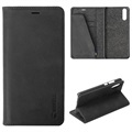Krusell Sunne 4 Card Huawei P20 Wallet Leather Case - Black