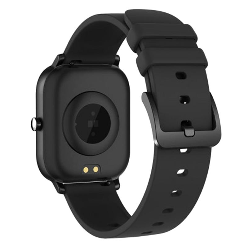 Ksix Cube HR03 Waterproof Smartwatch with Heart Rate - Black